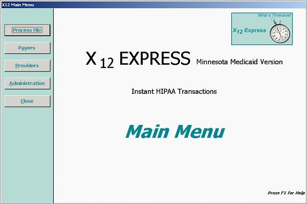 X12 Express - Simple Design