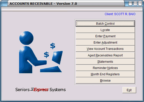 Seniors Express - Accounts Receivable